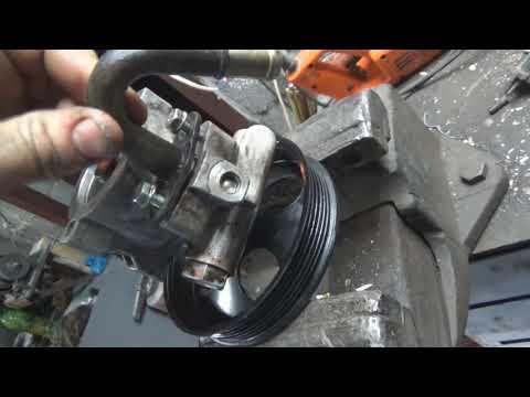 Ставим насос гидроусилителя руля Chevrolet Aveo на Lachetti. Отличия, взаимозаменяемость.