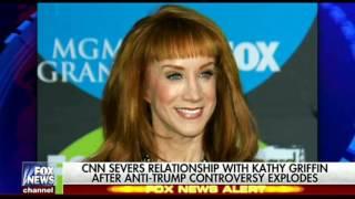 CNN TERMINATES KATHY GRIFFIN