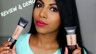 Loreal infallible pro matte 24 hr foundation ♡Review & Demo| Shuanabeauty