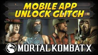 getlinkyoutube.com-Mortal Kombat X: How to Get All Mobile App Unlocks! (No App Needed)
