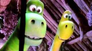 Un gran dinosaurio el nacimiento de Arlo y sus hermanos