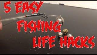getlinkyoutube.com-5 SIMPLE/EASY DIY FISHING LIFE HACKS!