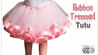 getlinkyoutube.com-How to Make a Ribbon Trimmed Tutu - TheRibbonRetreat.com