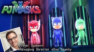 getlinkyoutube.com-PJ Masks - Interview: Toys, Games, Costumes, Episode List