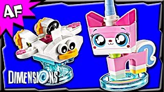getlinkyoutube.com-Lego Dimensions UNIKITTY Fun Pack 3-in-1 Build Review 71231