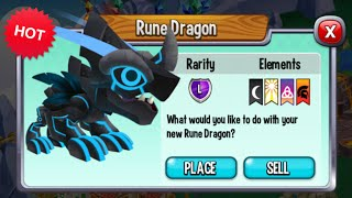 getlinkyoutube.com-Dragon City - Rune Dragon [Exclusive VIP Dragon | Only 20$]