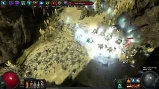 getlinkyoutube.com-Path Of Exile : Crit Spectral throw Build 2.0 Gorge Run