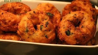 getlinkyoutube.com-Rava vada - how to prepare vadas with semolina/suji