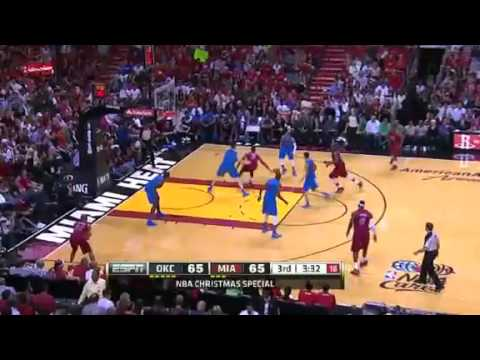Miami Heat vs. Oklahoma City Thunder (Game Recap) December 25, 2012