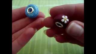 getlinkyoutube.com-[Tutorial] Pandora Bead (Polymer Clay/Fimo)