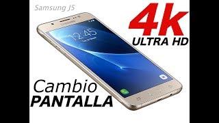 getlinkyoutube.com-Cambiar pantalla Samsung J5