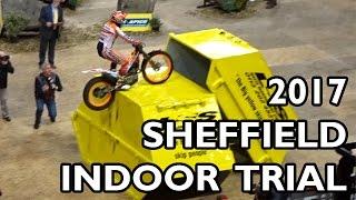 getlinkyoutube.com-Sheffield Indoor Motorbike Trials 2017