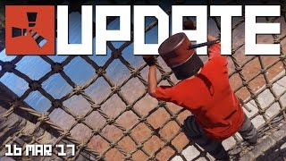 NETTED WALL FRAME, WALL SPINNER | RUST update news 16th MAR 2017
