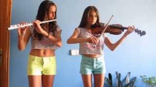 getlinkyoutube.com-Canon de Pachelbel- Violín y flauta.