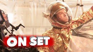 getlinkyoutube.com-The Martian: Behind the Scenes Movie Broll - Matt Damon, Ridley Scott, Kate Mara