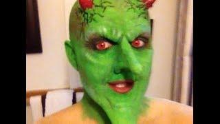 getlinkyoutube.com-Scream Team Prosthetic Halloween Transformation