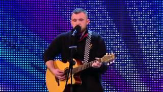 "Robbie Kennedy sings ""Iris"" by the Goo Goo Dolls - Britain's Got Talent 2013"