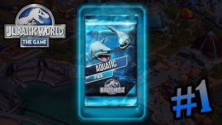 Aquatic Pack Opening!! | Jurassic World - The Aquatic Park #1