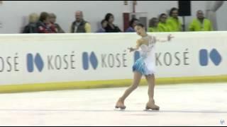 getlinkyoutube.com-JGP 2015 スペイン大会 女子フリー 松田 悠良