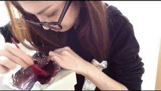 getlinkyoutube.com-ブリーチせずにセルフグラデーションカラーができるか検証 DIY ombre hair