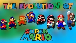 getlinkyoutube.com-The Evolution of Super Mario