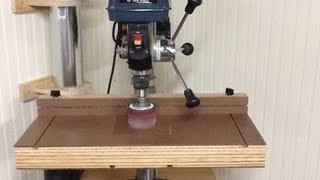 getlinkyoutube.com-Build the Ultimate Drill Press Table