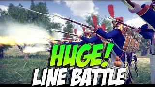 Mount and Blade Warband Napoleonic Wars- Huge Line Battle!