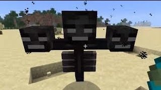 getlinkyoutube.com-Minecraft - Cómo invocar a Wither (Para TODAS las versiones)