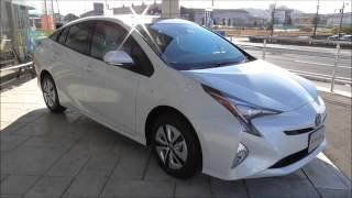 getlinkyoutube.com-トヨタ 新型4代目プリウス AプレミアムE-Four(ホワイトパールクリスタルシャイン)実車_TOYOTA_PRIUS_A_PREMIUM(White)