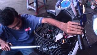 getlinkyoutube.com-Yamaha lc 135 turbo charge part 3