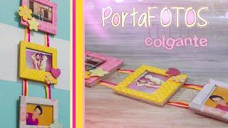 PortaFOTOS colgante | DIY