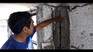 """Concrete Column Repair Procedure"" by ContractorBhai.com"