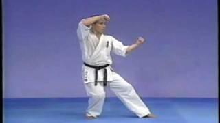 Karate kyokushin kata pinan sono 1,2,3,4,5