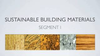 getlinkyoutube.com-Sustainable Building Materials Segment 1