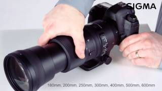 getlinkyoutube.com-Sigma 150-600mm F5-6.3 DG OS HSM Contemporary Lens