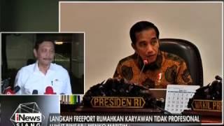 getlinkyoutube.com-Dinilai Tidak Profesional, Pemerintah Siap Melawan Gugatan Freeport - iNews Siang 22/02