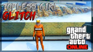 "getlinkyoutube.com-GTA 5 Online: NEW ""FULLY NAKED/TOPLESS FEMALE 1.24/1.23"" NAKED BOOBS GLITCH (GTA 5 Topless Glitch)"