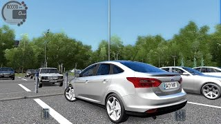 getlinkyoutube.com-City Car Driving 1.5.3 Ford Focus 3 Sedan [G27]