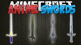 getlinkyoutube.com-Minecraft Mods || ANIME SWORDS!!! || Sword Art Online!! || Mod Showcase [1.7.10]