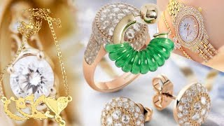 getlinkyoutube.com-الاكسسوارات الذهب و المجوهرات  و تصاميم رائعة لهواة التميز