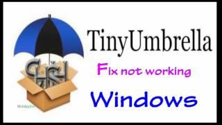 getlinkyoutube.com-Fix TinyUmbrella not work on Windows