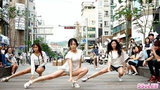 150818 써니데이즈 (Sunny Days) - 너를 사랑해, 기대해 (Cover Dance.1) @ 신촌 직캠 By SSoLEE