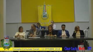 Consiglio Comunale Cariati 11 ottobre 2018   PARTE3