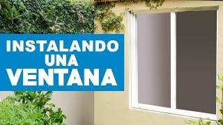 getlinkyoutube.com-¿Cómo instalar una ventana?