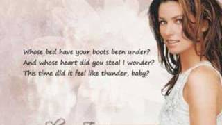 getlinkyoutube.com-Shania Twain - Whose bed have your boots been under