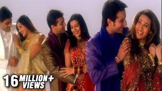 getlinkyoutube.com-Hum Saath Saath Hain - Title Song - Salman Khan, Saif Ali Khan, Karishma, Sonali, Tabu, Mohnish Behl