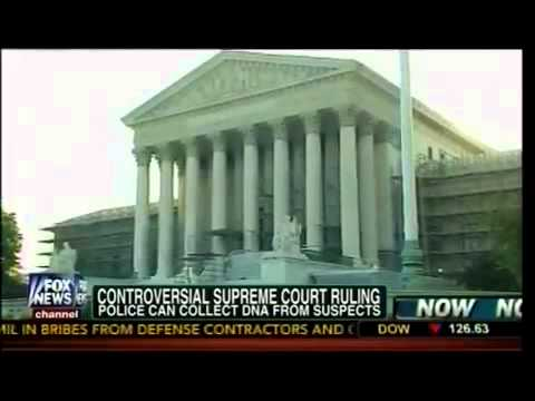 Controversial Supreme Court Ruling Police Can Collect DNA From Suspects