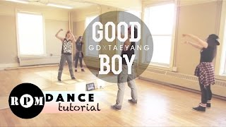 "getlinkyoutube.com-GD X TAEYANG ""Good Boy"" Dance Tutorial (Intro & First Chorus)"