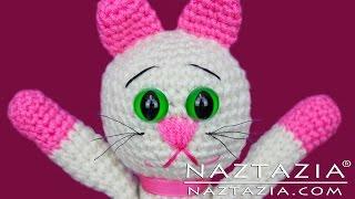 getlinkyoutube.com-DIY Learn How to Crochet Kitty Kitten Cat Toy Amigurumi Stuffed Animal Pet