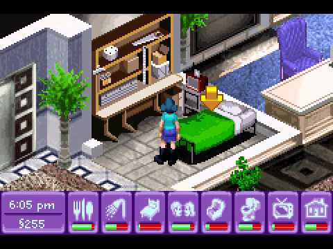 Urbz, The - Sims in the City - Urbz, The - Sims in the City (GBA) - Vizzed.com Play - User video